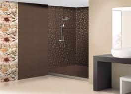 Modernes Badezimmer Braun Mosaik | Home Dekor - beeiconic.com