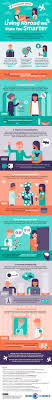 infographic six reasons why living abroad will make you smarter infographic six reasons why living abroad will make you smarter designtaxi com