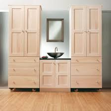 Light Oak Bathroom Furniture Shallow Wall Cabinet For Bathroom Creative Cabinets Decoration