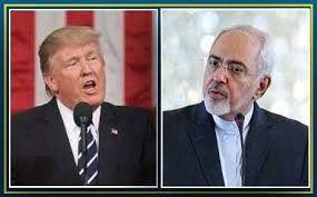 Image result for zarif & trump