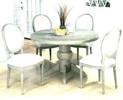 whitewashed pedestal dining table whitewash white washed round and chairs