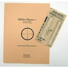 Mildot Master Chart Mildot Master Long Range Shooting Analog Calculator