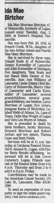 Ida Morrison Boals Obituary - Newspapers.com