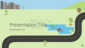 road map powerpoint template free roadmap infographics powerpoint template