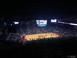 Dayton Arena Seating Chart Ncaa University Of Dayton Arena Section 406 Rateyourseats Com