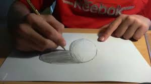 drawing anamorphic 3d spheres like sidewalk 3d art tutorial you