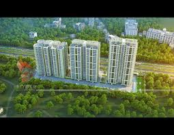 3d architectural building apartment of township