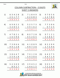 Math : subtraction worksheets for 4th grade Subtraction Word ...
