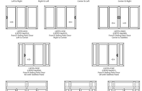 Sliding Door sliding door sizes standard photos : Sliding glass door sizes