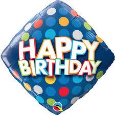 Happy Birthday Foil Balloon 5