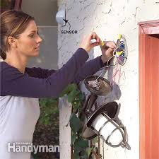 installing a remote motion detector for lighting the family handyman photo 5 wire the sensor