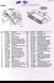 pcm connector diagrams www neons org 1997 Dodge Caravan Wiring Diagram pcm connector diagrams