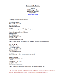 Resume Reference Template Custom References Sample How To Create A Reference List Sheet For Job