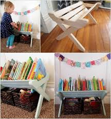 Build an X Base Book Caddy for a Toddler's Room