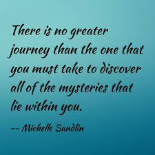 Self Discovery Quotes Impressive Quote About Self Discovery By Michelle Sandlin Inspirational