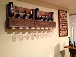 pallet wine glass rack. Pallet Wine Glass Rack L