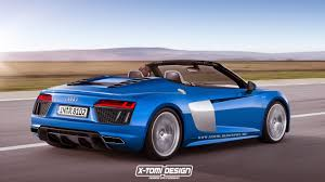 2017 Audi R8 Spyder Rendered For People Who Hate Surprises
