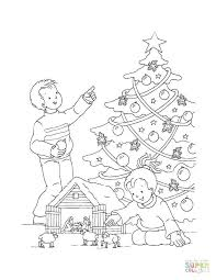Print out kids train coloring page printables. Christmas Train Coloring Pages Tree In The House Thomas The Tank Engine Christma Tsgos Com