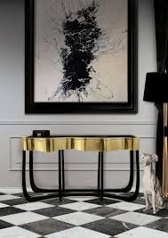 Modern Console Table With StorageLiving Room Console Cabinets