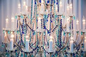 take a look at this turquoise and cobalt blue crystal chandelier and listen for the ocean waves