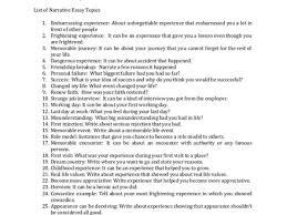 narrative essay topics narrative essay org discover 100 narrative essay topic ideas