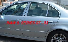 BMW 5 Series bmw 5 series 2000 : BMW 5 Series Chrome Pillar Post Trim