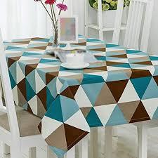 zyckeji unique geometry dark retro round table cloth cloth tablecloth round tablecloth coffee table cloth desk cloth comfortable size 110 170cm b07h29ytp6