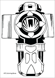 Power Ranger Printables Power Rangers Samurai Coloring Pages Free