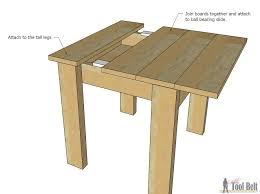 How to build a simple table End Table Build An Easy Kids Table And Chair Set With Sliding Top To Store Legos Her Tool Belt Simple Kids Table And Chair Set Her Tool Belt