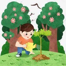 Hình ảnh Minh Họa Nhân Vật Arbor Day Cô Bé Tưới Cây Lá Xanh Trang Trí Cây,  Cậu Bé Clipart, Minh Họa Nhân Vật Ngày Arbor, Cô Gái Nhỏ Tưới Cây miễn