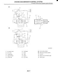 Crankcase emission control system emission control aux