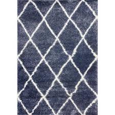 diamond blue 9 ft x 12 ft area rug