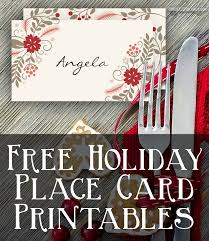 christmas placecard templates craft free printable holiday place cards taylor bradford