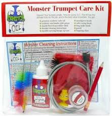 Details About Monster Trumpet Cornet Care And Cleaning Kit Valve Oil Slide Grease And More