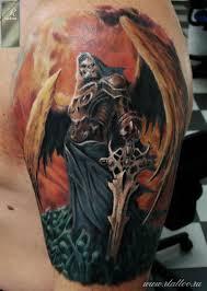 цветная татуировка фото