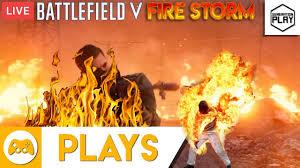 He's on fire!!! Battlefield 5 Firestorm ...