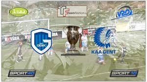 KRC Genk door naar finale BVB na veel commotie met twee strafschoppen en  afgekeurde goal voor gent.