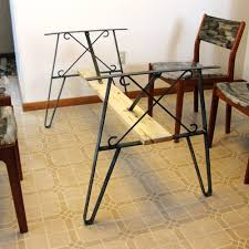 Iron Dining Table Legs Iron Table Legs Etsy