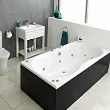 ... Bathtubs Idea, Whirlpool Bath Double Whirlpool Baths High Gloss Black  Whirpool Jacuzzi And Small Square ...