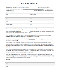 A car sale template that includes payment terms when selling a vehicle. Car Sale Contract Template For Word Document Hub