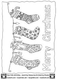 5cd0780753b698698ff2ff026c7695d6 christmas stocking coloring page template collection at www on free xmas menu templates