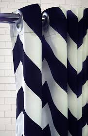 new colors standard tub shower curtain extra large chevron zig zag pattern free