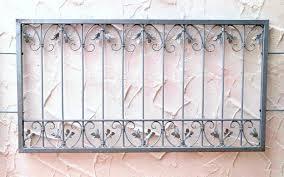 Fenstergitter Schmiedeeisen Ziergitter Einbruchschutz Monaco Z80150