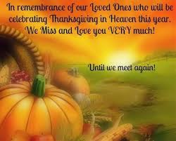 Remembering Loved Ones In Heaven At Thanksgiving