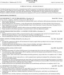 Sample Legal Resume Sample Legal Resumes Attorney Sample Resume