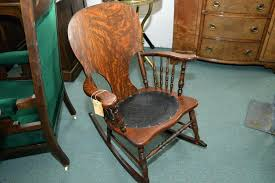 rocking chair leather seat a spindle back rocking chair antique rocking chair with leather