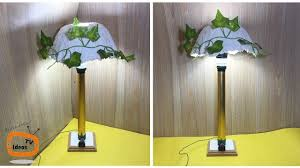 Bedside Lamp Diy How To Make A Simple Bedside Table Lamp At Home