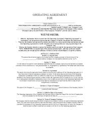 C Corporation Operating Agreement Template Fresh New A Sample Nail ...
