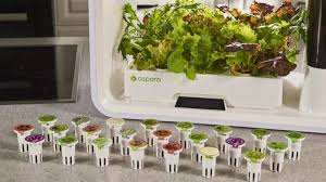 the future of indoor farming may already be here in the form of a growing system that uses a keurig like system to grow your produce for you
