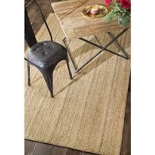 4 x 6 oval hand woven rigo jute rug natural rug tajt03 406o by nuloom